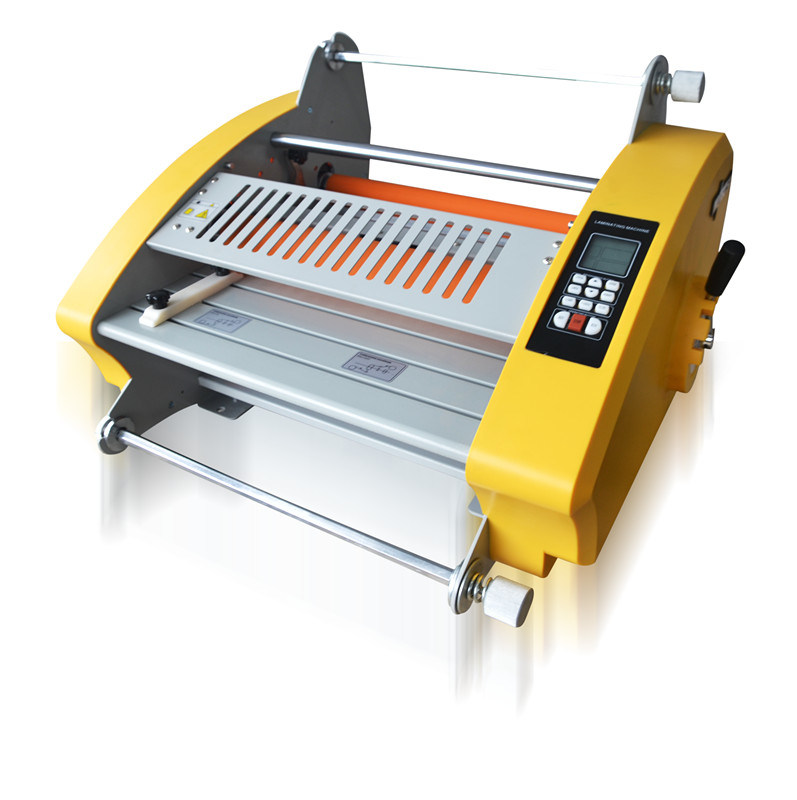 A4 or A3 Size Office Hot Cold Pouch Photo/Paper 3811 Laminating Machine