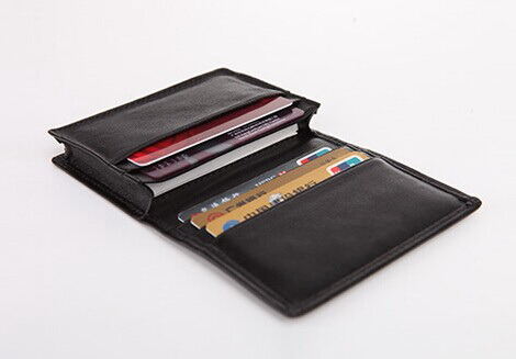 Leather ID Business Card Holder, Business Card Holder (C59)