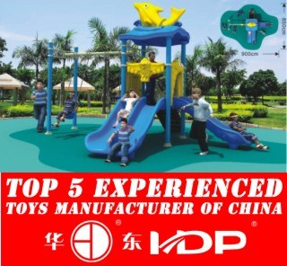 Outdoor Kids Slide and Paradise Playground