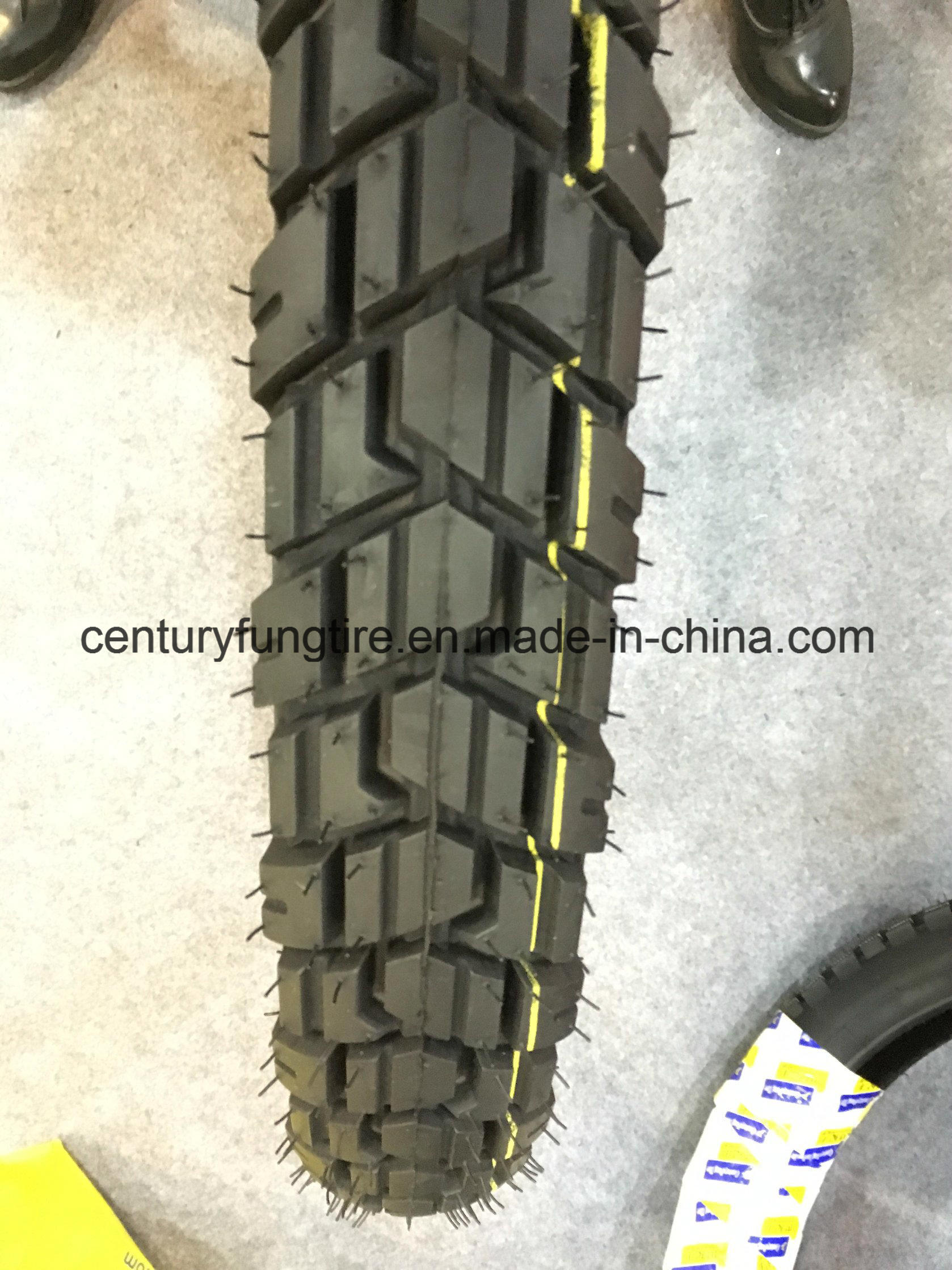 Motorcycle Tyre 2.75-21 with E-MARK