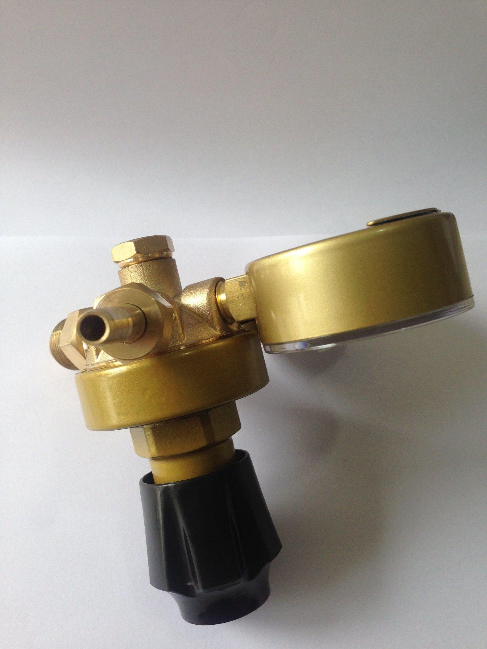 Anti-Explosion Watchcase Brass Acetylene Gas Regulator