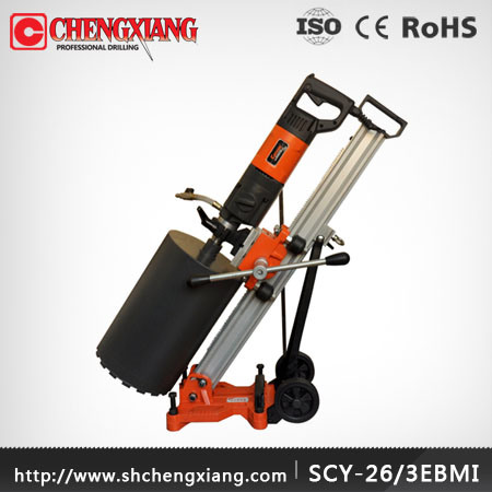 Cayken 165mm Concrete Core Cutting Drilling Machine, Handheld Core Drill Machine (SCY-26/3EBMI)