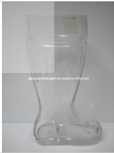 Clear Beer Boot Glass Cup (B-700C)