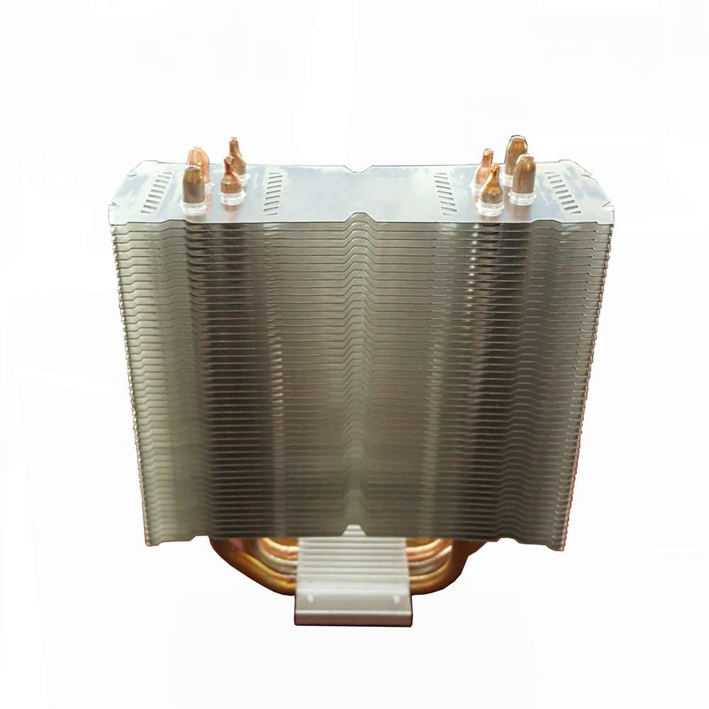CPU Heat Sink with Copper Sintered Heat Pipes