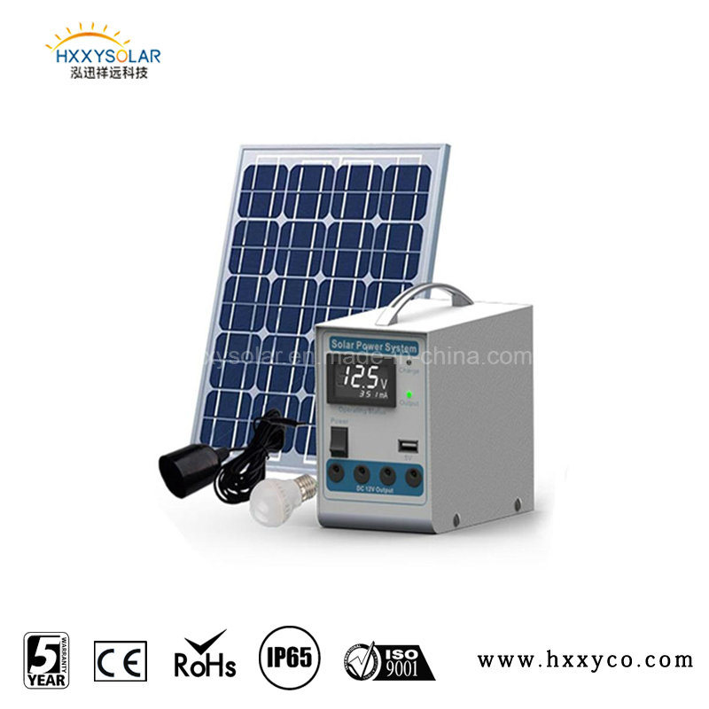 Portable 12V Solar Power System for Small Homes, Solar System, Solar Energy System