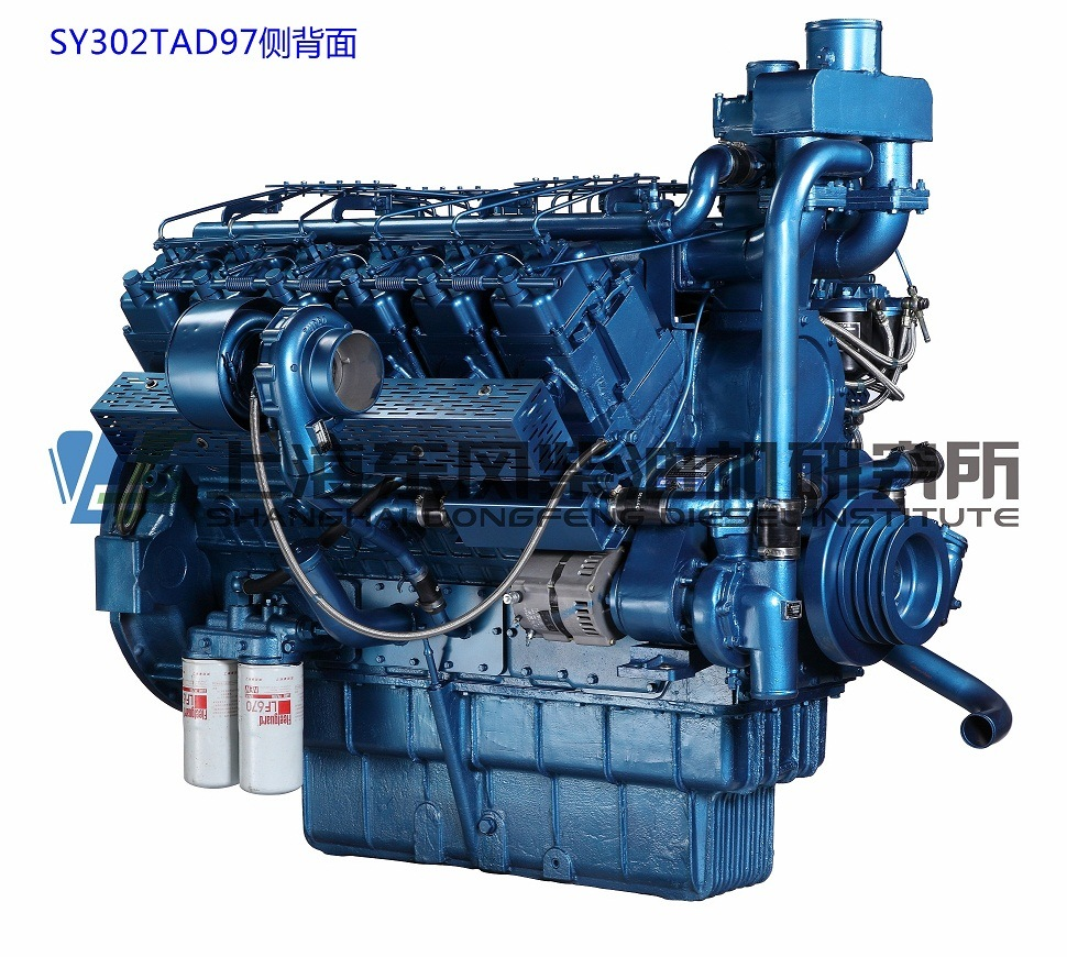 Cummins, 12 Cylinder, 968kw, Shanghai Dongfeng Diesel Engine for Generator Set,
