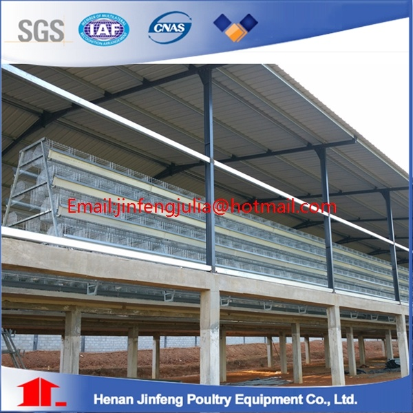 Egg Laying Cages for Poultry Farms in Africa