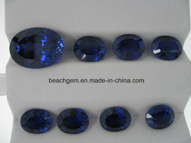 Top Luster 34# Sapphire Gemstone for Jewelry Setting