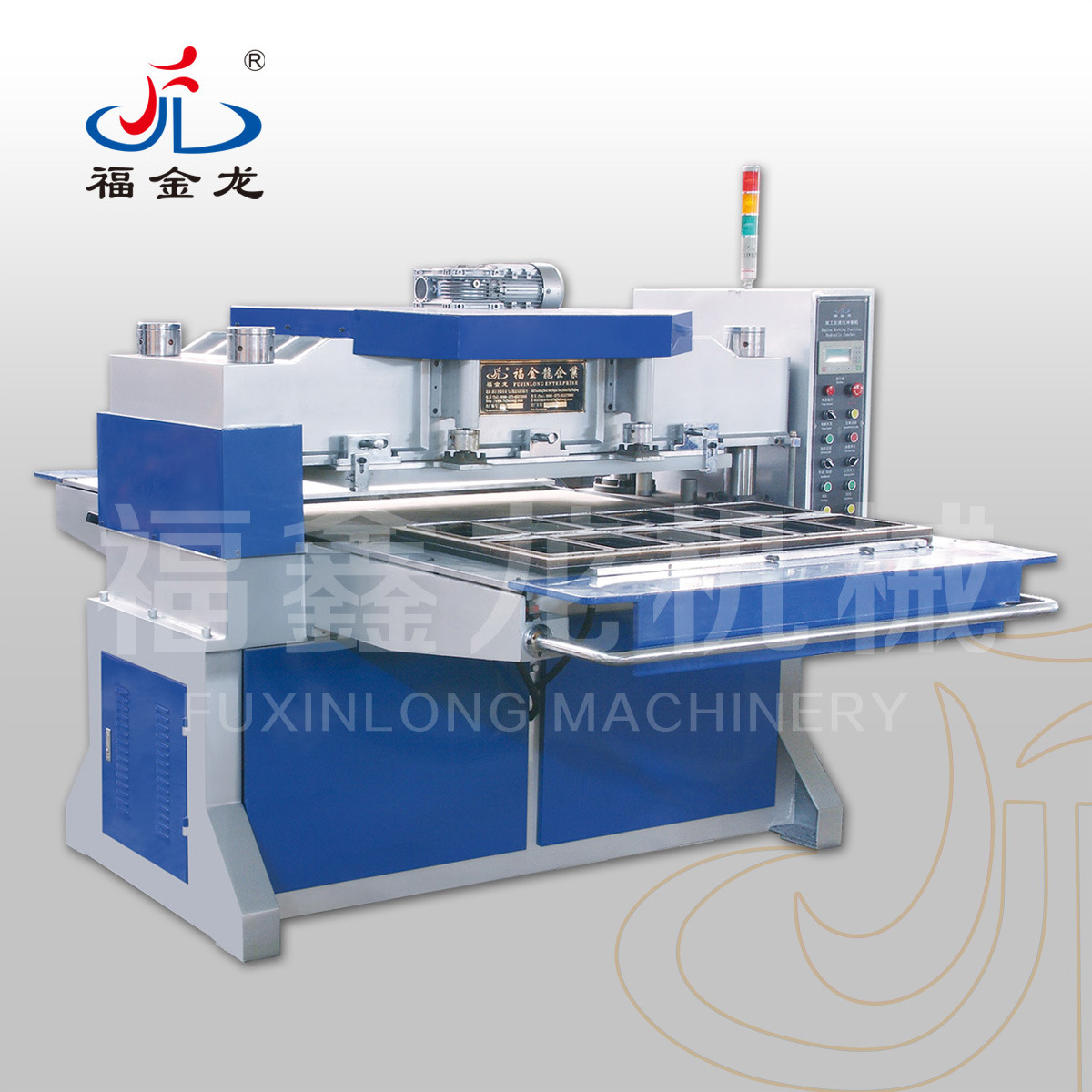 Duplex Working Position Hydraulic Puncher Machine