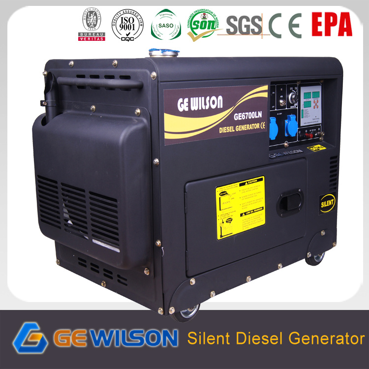 Quiet Soundproof Electric Diesel Generator From China