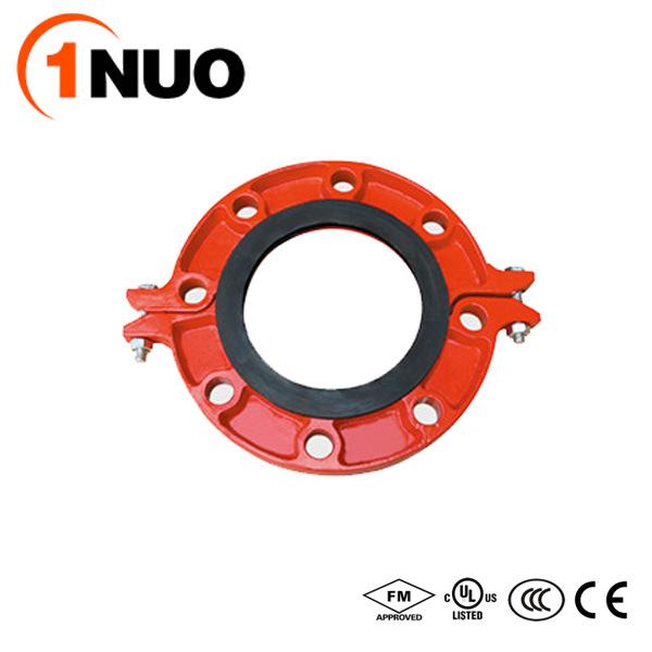 FM/UL/Ce Certified Epoxy Pipe Fittings Cast Iron Split Flange-Pn16