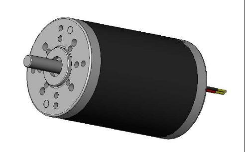 China Od 63mm High Torque Permanent Magnet Brush Dc Motor