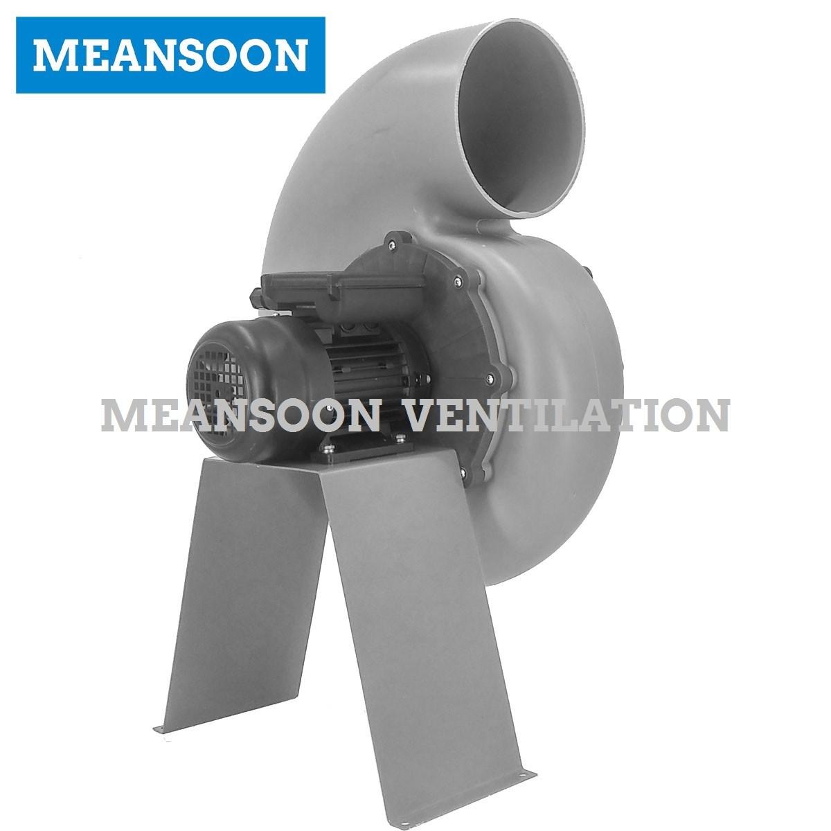 Plastic Corrosion Resistant Centrifugal Fan 200 for Laboratory Ventilation