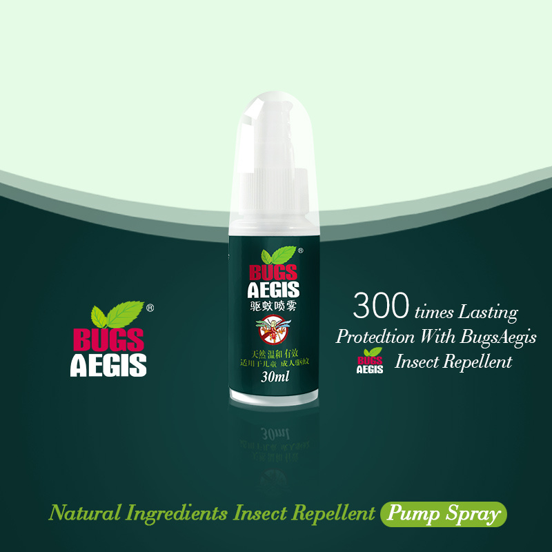 Natural Insect Repellent with Pump Spray