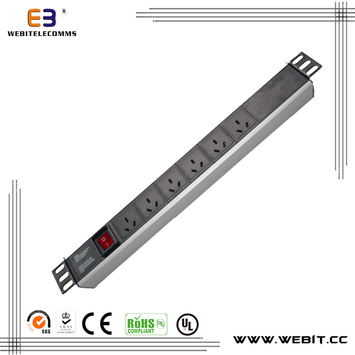 Australian Series PDU Socket with 2m Cable Wb-PDU-03