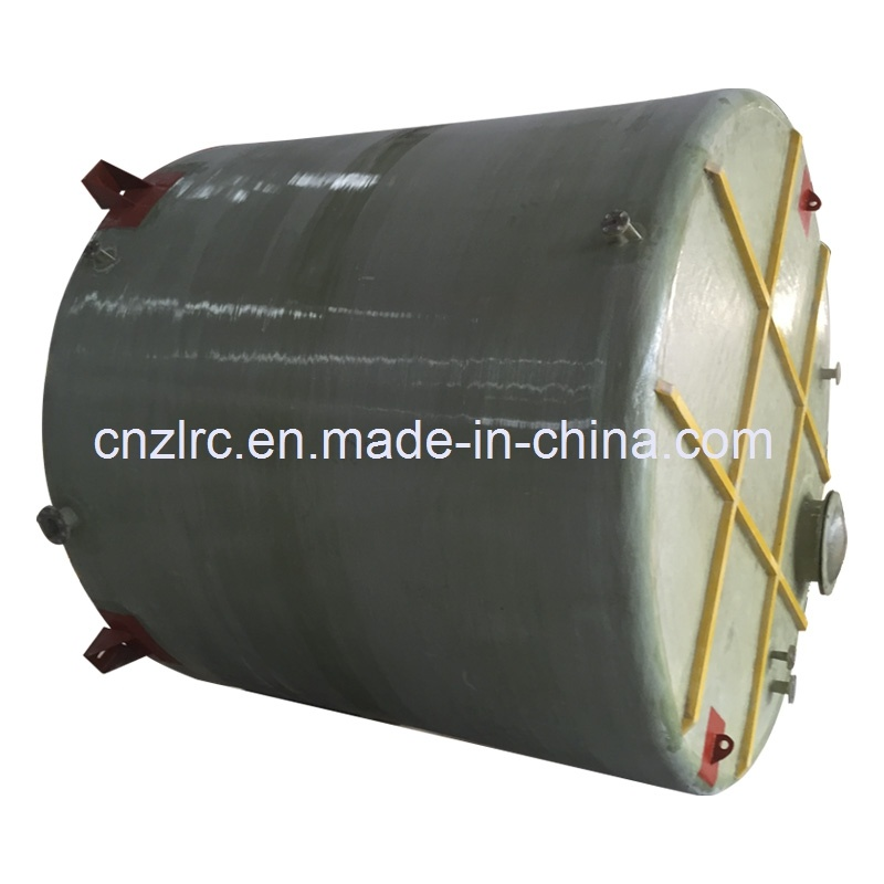 FRP/GRP Horizontal Fuel Tank Septic Tank Oil Fuel Water Storage Container Chemical Tank