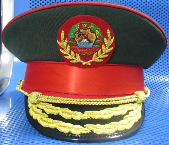 Cap for Peak (56-60), Police Cap, Military Cap