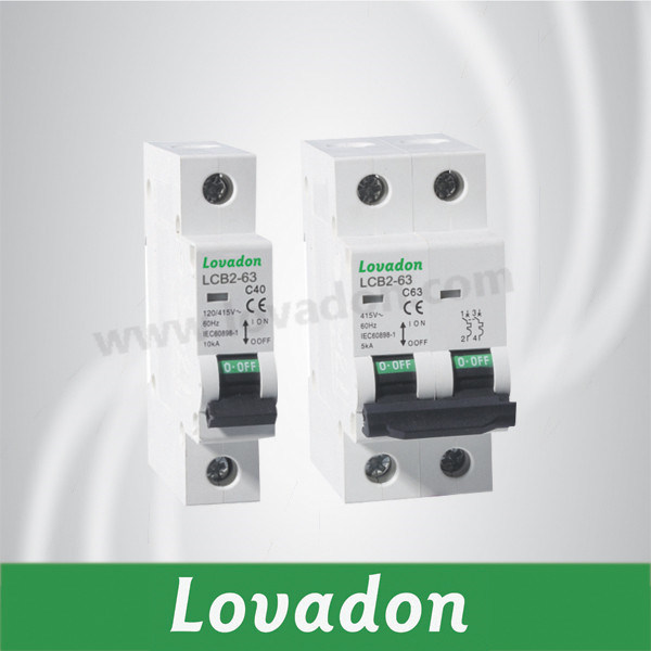 C40. C63 Lcb2-63n Miniature Circuit Breaker