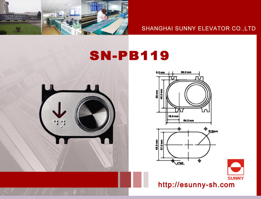Elevator Push Button (SN-PB119)