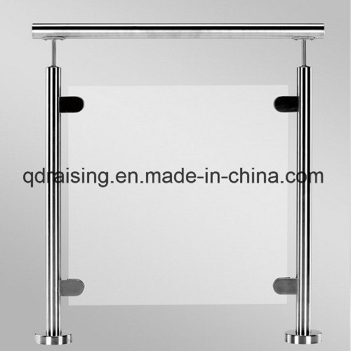 Stainless Steel Glass Railing for Outdoor Stairs and Handrails