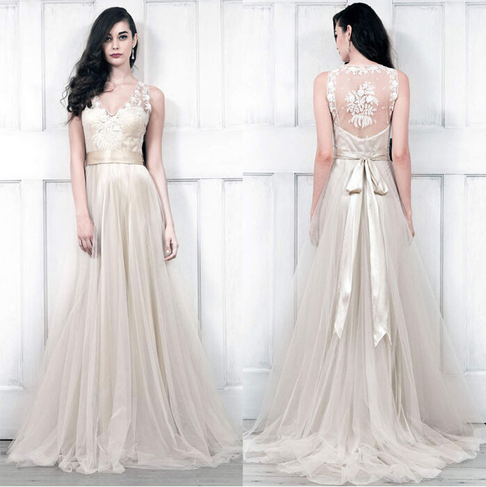 Champagne And Lace Wedding Dresses Abbotsford 81