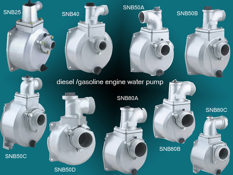 Diesel / Gasoline Water Pump SNB Series