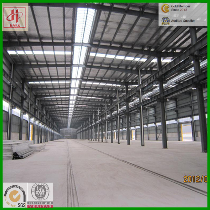 Prefabricated Steel Structure Workshop with SGS Standard (EHSS009)