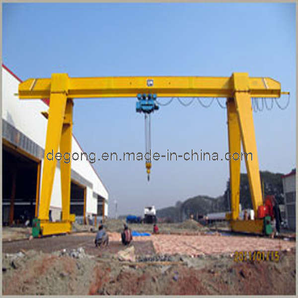 Gantry Crane http://degong.en.made-in-china.com/product/oetmMOHrHXUA/China-Small-Gantry-Crane-MH-.html