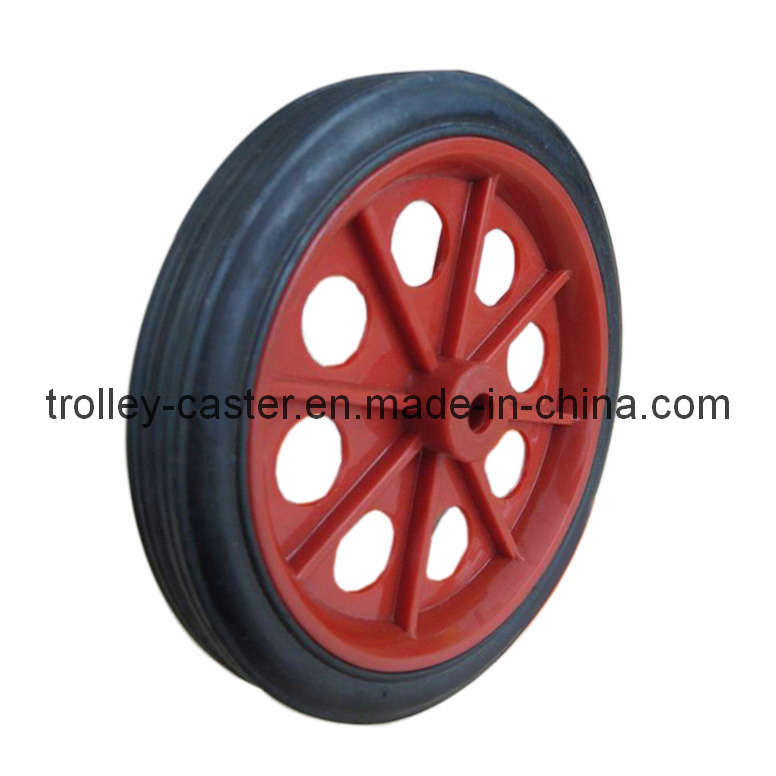 Luggage trolley caster castor rubber wheel luggage trolley caster castor rubber wheel - Roue caoutchouc chariot ...