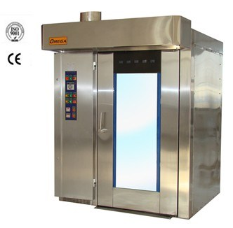 Stainless Steel Soft Air Rotary Rack Bakery Gas Oven with CE & ISO Certification (R6080G)