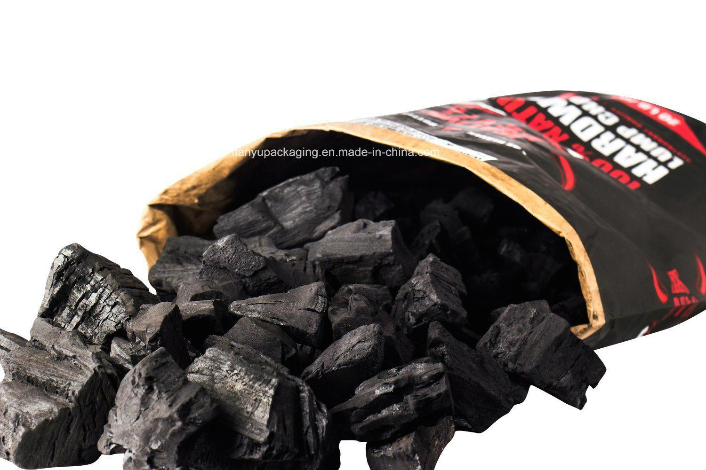 Kraft Paper Bag for Hardwood Lump Charcoal