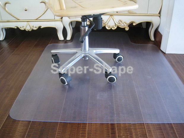 How to get a plastic office chair mat to unroll? - Yahoo! Answers