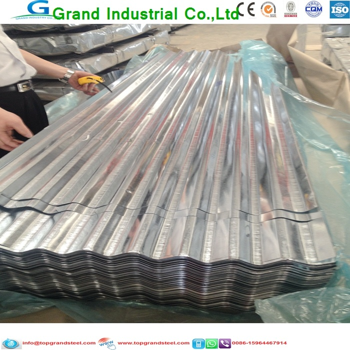 Zinc Galvanized Metal Roofing Sheet for House Roofing, Farms, Stables, Barns, Sheds, Troughs