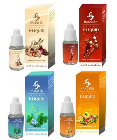 Best E Cigarette Liquid Hangsen E Liquid