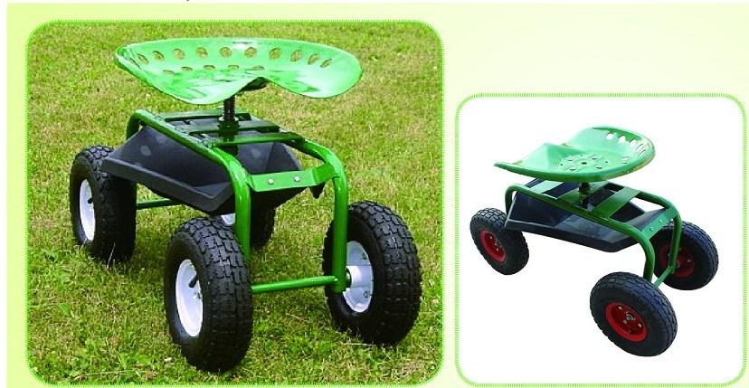 Rolling Garden Work Seat Qingdao Yongtai Special Hand Truck Co