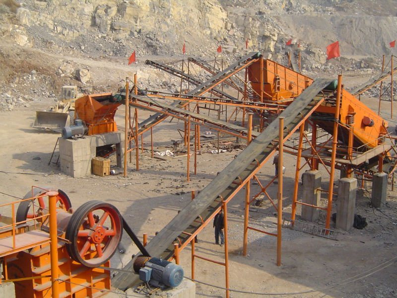 Stone Crushing Line, Stone Making Plant, Stone Processing Line, Rock Stone Crusher Plant with 50-500t/H