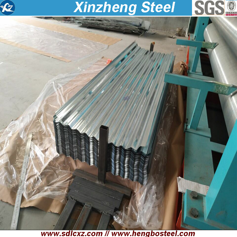 (0.125-0.5mm) Building Material Steel Products Corrugated Steel Sheet Roofing Sheet