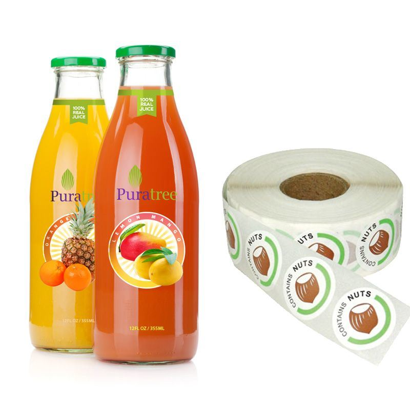 Water Resistant Sticker, Waterproof Label, Bottle Labels