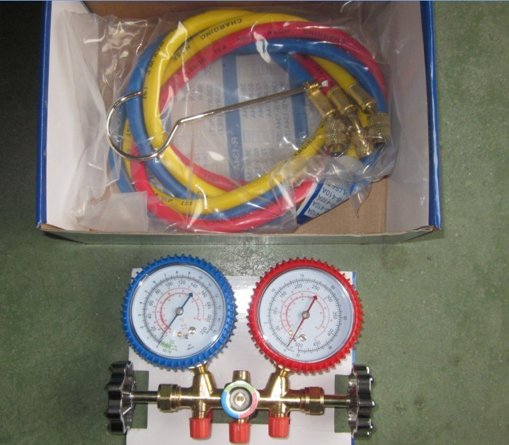 Manifold Gauge Set Ct-536g/Double Gauge Manifold Set/Refrigeration Tool