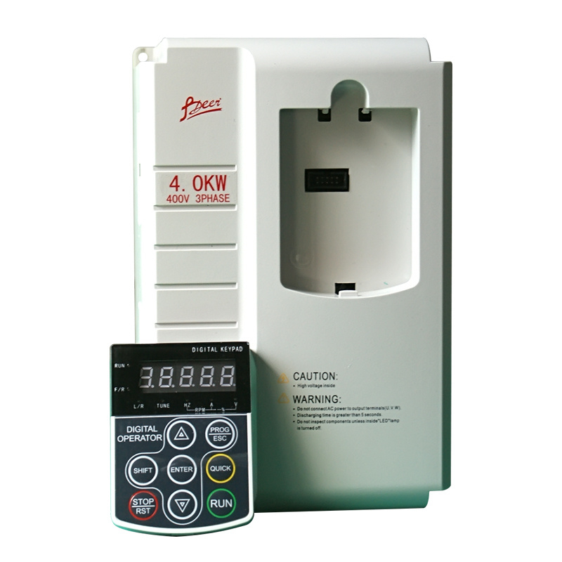 AC Drive, Vector Control Frequency Inverter 0.75kw