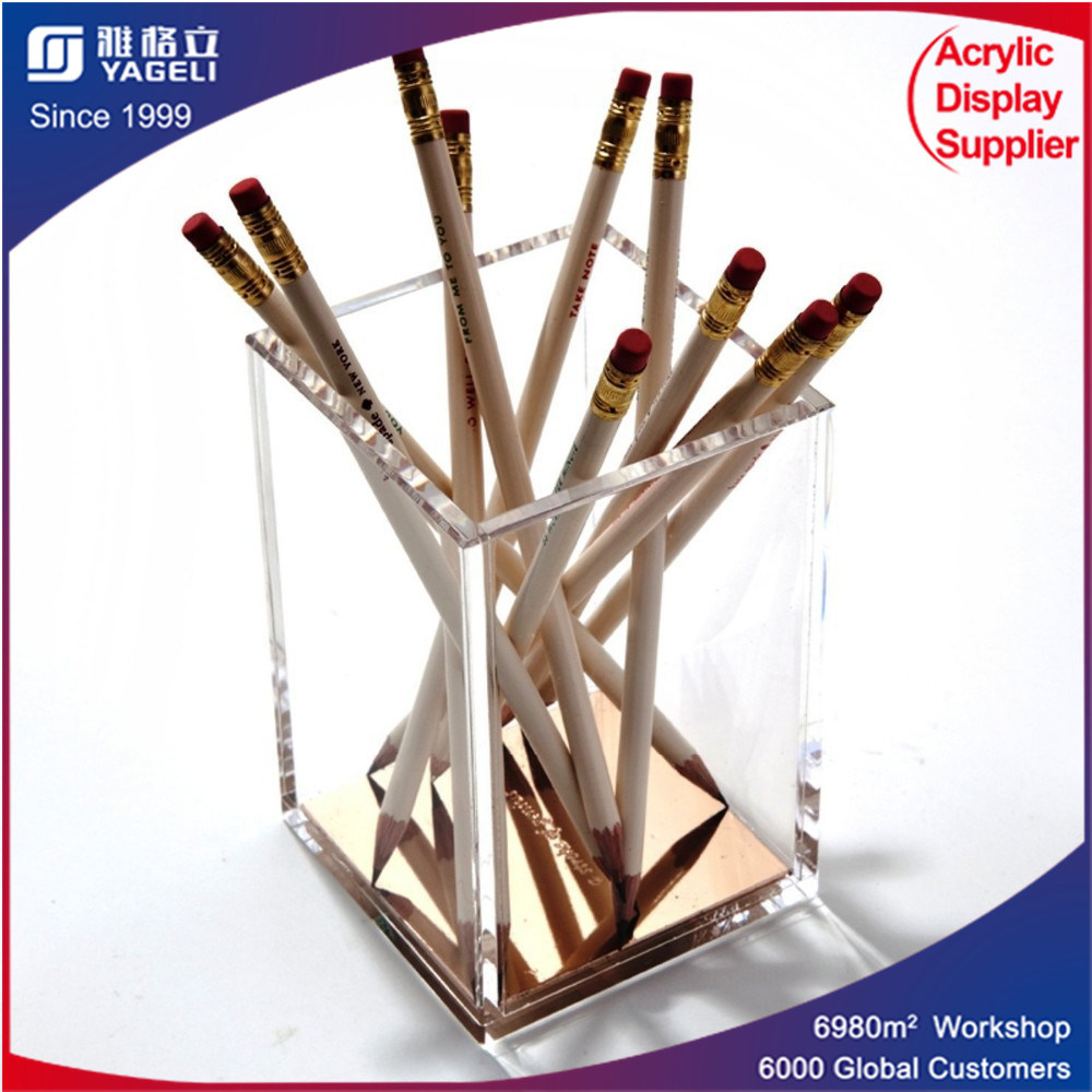 Office Organizer Pencil Cup Acrylic for Pen Holder