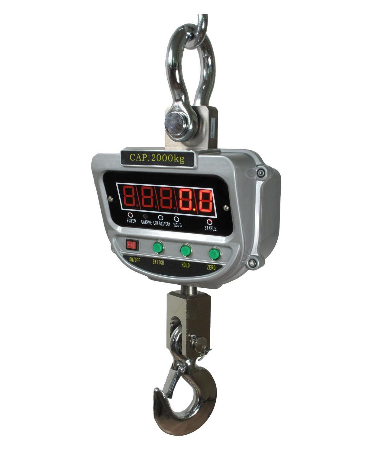 Electronic Crane Scale Hanging Scale Rotaed Hook1000kg