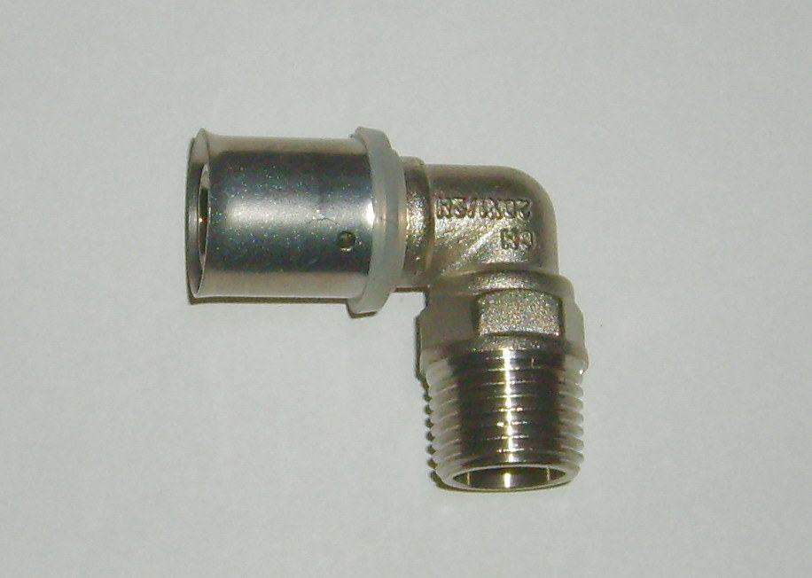 China brass elbow double jointing pipe fittings