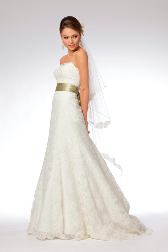 The information is not available right now for Simple strapless wedding dress