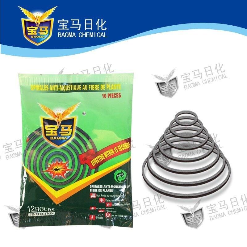 Baoma Premium Fiber Plant Mosquito Coil