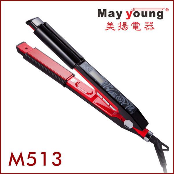 2 in 1 LCD Digital Hair Straightener