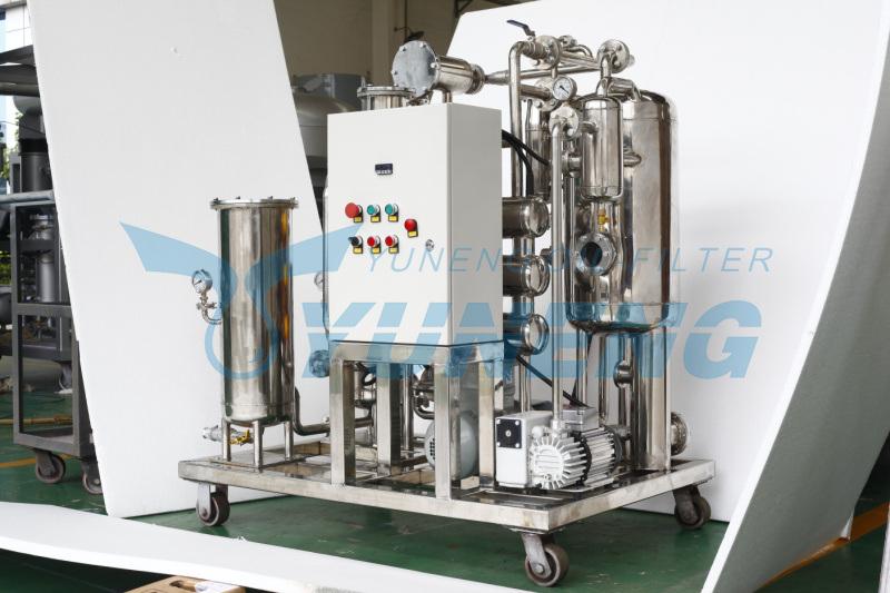 Vacuum Mobile Fire Resistant Oil Purifier