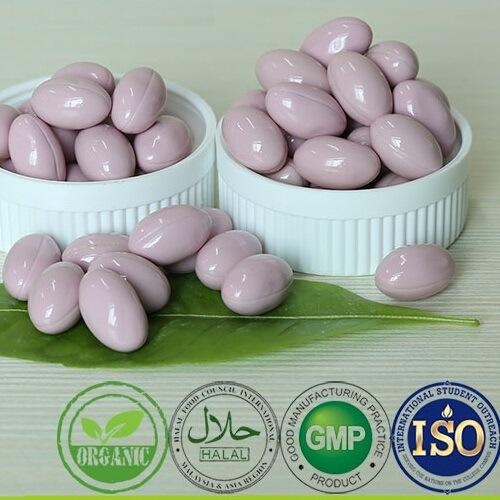 OEM Private Label Organic Certification Ganoderma Lucidum Spore Powder Soft Capsule