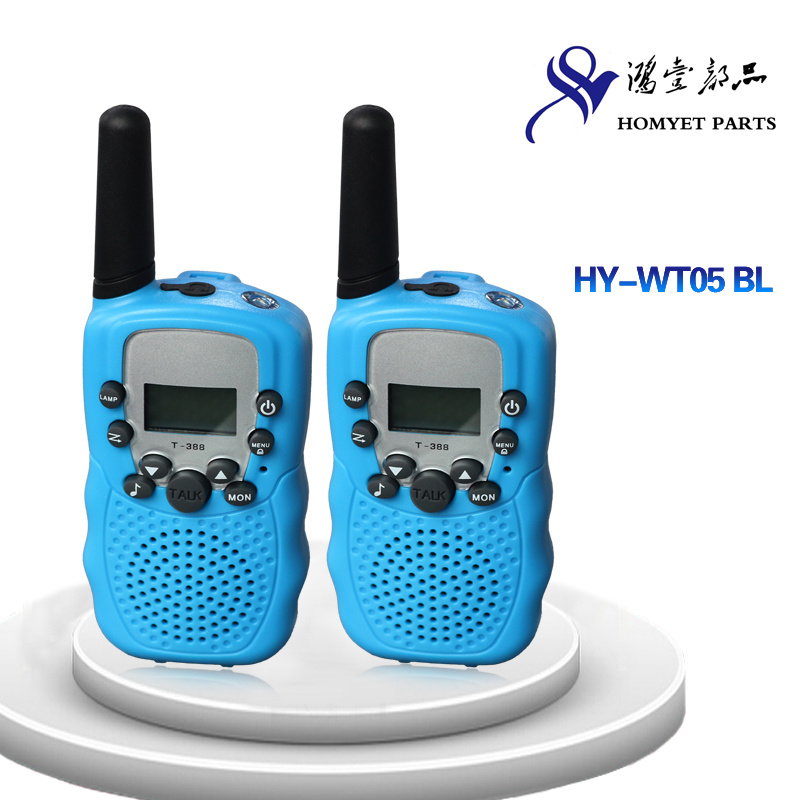 Two Way Radio Button Interphone for Kids (HY-WT05 BL)