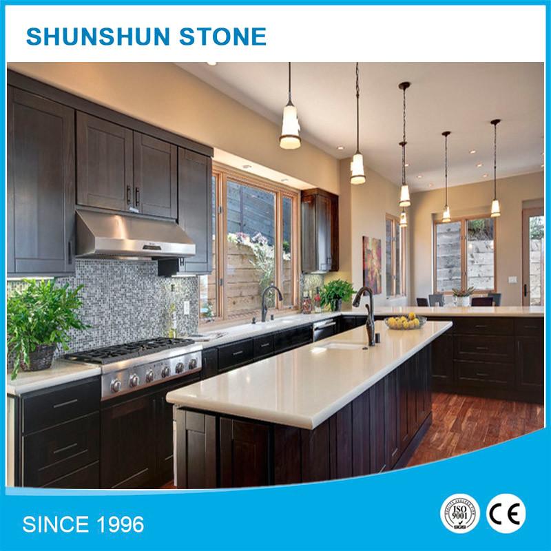 Artificial Quartz Stone Countertops for Kitchen